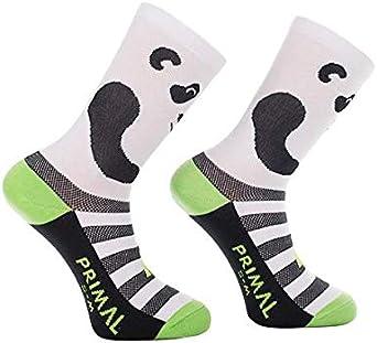 Primal Wear Herren Panda Cycling Bike Socken