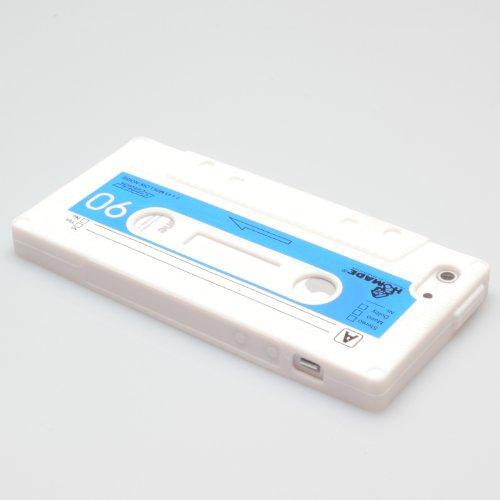 iPhone SE / 5 / 5s Case Schutzhülle Schutz Handy Hülle Bumper Tasche Etui Schale Silikon Kassette Weiß