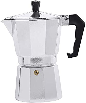CHAO Cafetera Espresso Moka, Hecha de Material de aleación de ...
