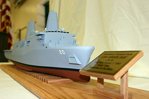 Home Comforts A Scale Model Precommissioning Unit (PCU) Green Bay (LPD 20) is Presented to The Neville Public M
