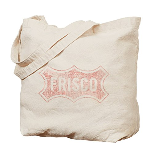 CafePress - Faded Frisco - Natural Canvas Tote Bag, Cloth Shopping - Frisco Shopping Co