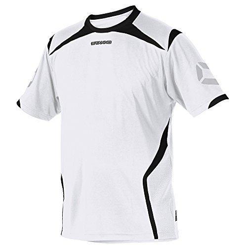 TALLA 3XL. Stanno Torino Camiseta de KA (Blanco-Negro)