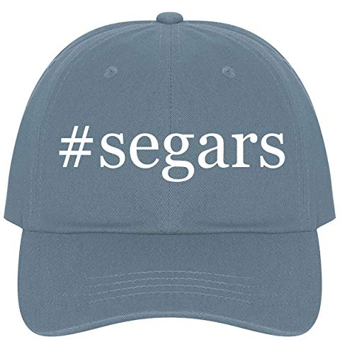 The Town Butler #Segars - A Nice Comfortable Adjustable Hashtag Dad Hat Cap, Light Blue
