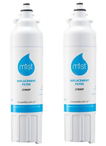 3. Mist LG LT800P Refrigerator Water Filter Replacement