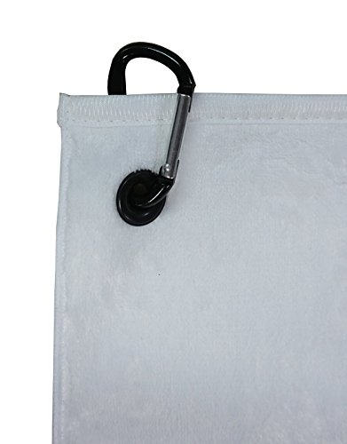Hollywood Thread I Love Nurses Golf Towel with Carabiner Clip by Hollywood Thread (Image #1)