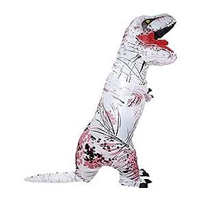 GLOBEAGLE Disfraz de Dinosaurio Hinchable para Adultos ...