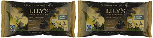 Lily's Chocolate All Natural Premium Baking Chips, Dark Chocolate, 4 Count - 2-Pack by Lily's Chocolate (Image #3)