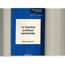 la fonction publique territoriale (cdd)