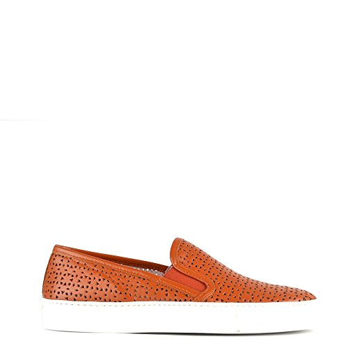 Elia Trainer Tan Shoes B Slip Perforated Tan Polo On frfqHOw