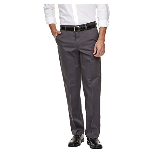 Haggar H26 - Men's No Iron Classic Fit Twill Trouser