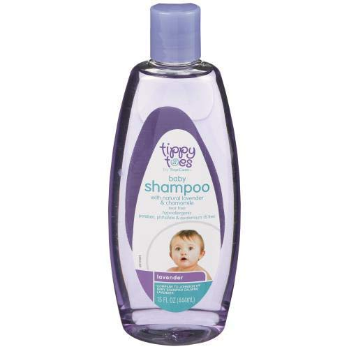 Baby Shampoo with Natural Lavender (Pack of 10) by Generic