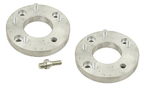 (EMPI 9504 Chevy 5 lug Wheel to 4 Lug VW Wheel Adapters, Aluminum, Pair, VW BUG, BEETLE, With Studs)