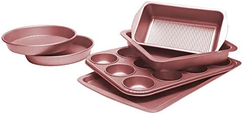TOPTIER Bakeware Non Stick Rectangle Professional