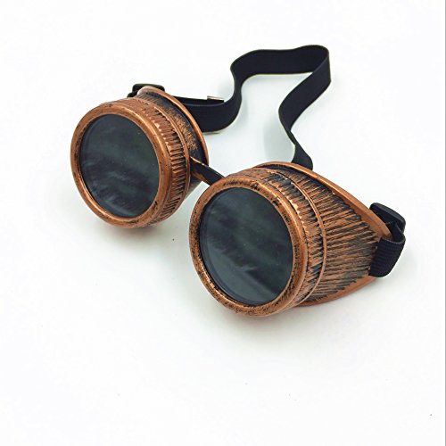 DD-LIFE New Sell Vintage Steampunk Goggles Glasses Welding Cyber Punk Gothic