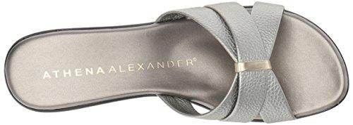 Athena Alexander Mujeres Serra Wedge Sandal Pewter
