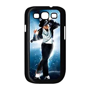 King Of Pop DIY Cover Case with Hard Shell Protection for Samsung Galaxy S3 I9300 Case lxa#7203459