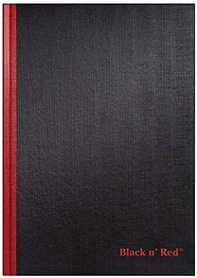 Black n Red D66174 - Cuaderno A4, 192 paginas [Pack de 5]: Amazon ...