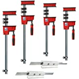 Bessey KRX2450 K Body REVO Fixed-Jaw Parallel Clamp Kit
