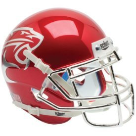 Houston Cougars Red Chrome 2014 - NCAA MINI Helmet -