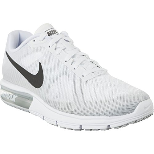 the latest 105a7 a50e0 Galleon - Nike Air Max Sequent Womens Running Shoes (7.5 B(M) US, White Cool  Grey Pure Platinum Metallic Dark Grey)