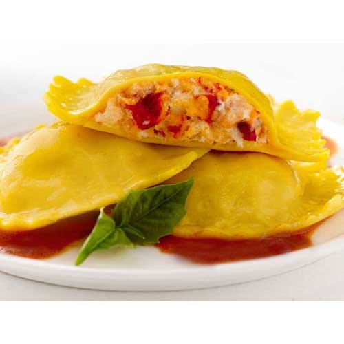 Seviroli Large Hex Lobster Ravioli, 2.5 Pound -- 2 per case. by Seviroli Foods