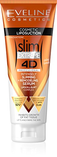 Fat Burning Gel - Eveline Slim Extreme 4D Liposuction Body Serum, 8.45 Fluid Ounce