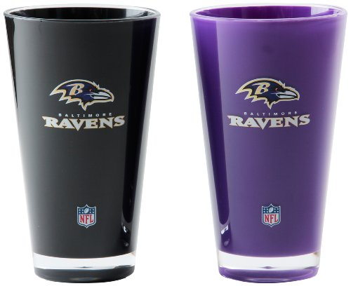 Baltimore Ravens Tumblers (NFL Baltimore Ravens 20-Ounce Insulated Tumbler - 2 Pack)