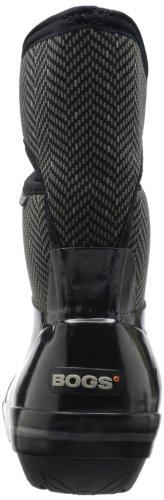 Paludi Womens Plimsoll A Spina Di Pesce Mid Winter Snow Boot Nero / Grigio
