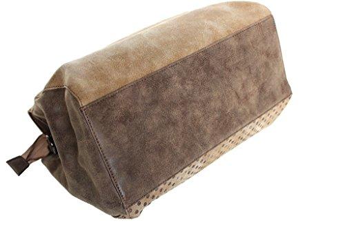 Barato En Línea Borsa donna Lumberjack bauletto a mano 29158b002 tortora Descuento Exclusivo Para Comprar Barato Pre Precio Increíble Precio Barato Al Por Mayor P3xwyJAyE2