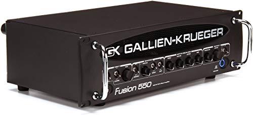 Gallien-Krueger Fusion 550 Hybrid Bass Valve Amplifier (500 Watt)
