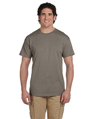 GILDAN - Camiseta - para hombre verde polvo