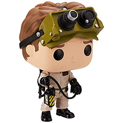 Funko Pop! Movies: Ghostbusters - Dr. Raymond Stantz, Multicolor: Toys & Games