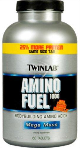 Twinlab Amino Fuel Mega Mass 1000, 150 Tablets (Pack de 2)