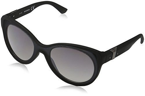 Diesel Women's Sunglasses, Petrol/White/Blue, One - Diesel Sunglasses White