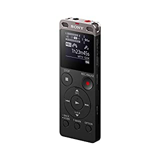 "Sony ICDUX560BLK Digital Voice Recorder 1"" Black"