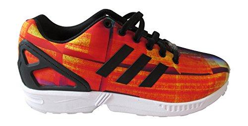 CBLACK para Zx adidas hombre Flux RED S31620 Zapatillas FTWWHT Originals wSqHx0p