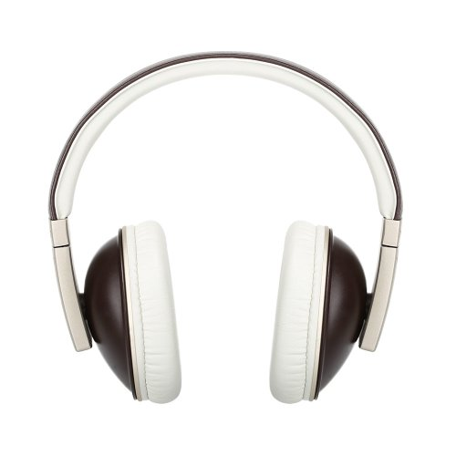 Polk Audio Buckle Headphones - Brown/Gold - with 3 button control and microphone Photo #5