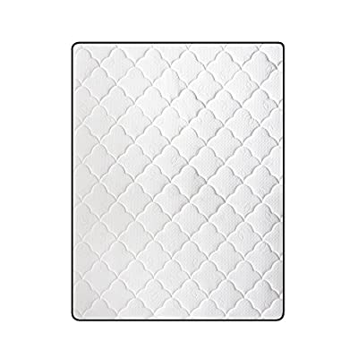 Classic Brands Hybrid Memory Foam and Innerspring Mattress