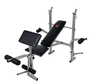 Weight Bench Deluxe Exercise Bench Multi Option-Marshal Fitness
