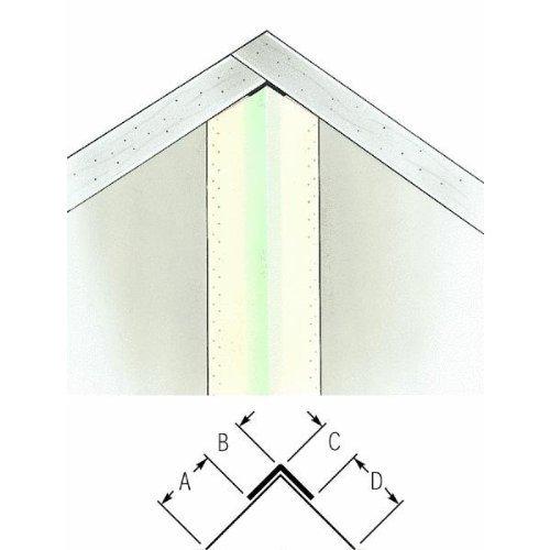 Beadex Paper Faced Metal Inside Drywall Corner Bead By Usg
