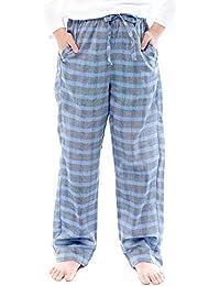 54a16606a Kids Big Boys Toddler Plaid Check 100% Cotton Pajama Lounge Pants