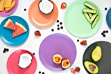 Bobo&Boo Bamboo Kids Plates(7.8inch), Set of 4