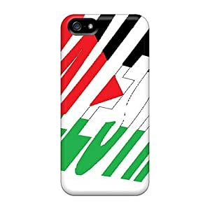 New LauraGroffwo Super Strong Palestine Tpu Case Cover For Iphone 5/5s
