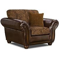 Simmons Upholstery 8104-01 Zephyr Aspen Chair