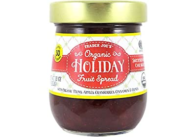 Trader Joe's Organic Holiday Fruit Spread With Plums, Apples, Cranberries & Oranges