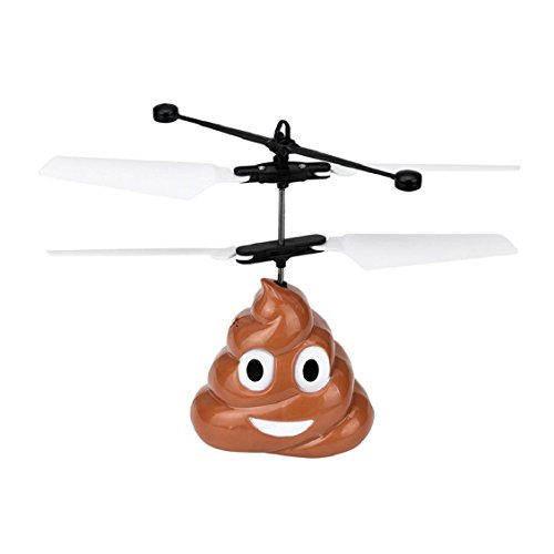 Price comparison product image Naladoo New Fashion RC Flying Ball, Hand Flying Poop Ball Mini induction Suspension RC Aircraft Flying Toy Drone