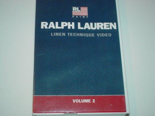 Ralph Lauren Linen Technique Video Volume 2