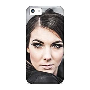 Iphone 5c MEl7722JzsG Allow Personal Design Nice Lacrimosa Band Image Bumper Hard Cell-phone Cases -TimeaJoyce