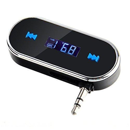 3.5mm Black Car Wireless FM Transmitter For iPhone 5S 5C 4S iPod Samsung Galaxy S4 MP3 (Transmitter S4 Fm Galaxy)