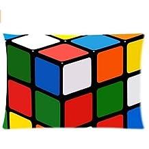 Rubik's cube Pillowcases Custom Pillow Case Cushion Cover Fashion Home Decorative Pillowcase Gift 20x26 Twin Sides